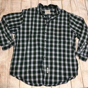 Abercrombie & Fitch Long Sleeve Plaid Short